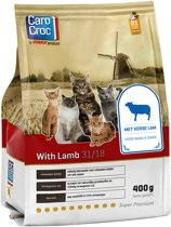 Carocroc With Lamb - Gevogelte/Granen/Lam - Kattenvoer - 400 g