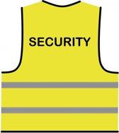 Veiligheidshesje geel 'Security'