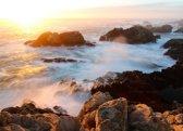 Papermoon Sunset on Big Sur Coast Vlies Fotobehang 500x280cm 10-Banen