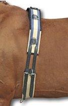 HKM Longeersingel - Canvas - donkerblauw/beige Pony