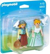 Playmobil Duopack prinses en dienstmeisje - 6843