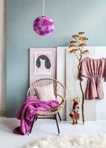 Colorique Hanglamp Flower Beads roze