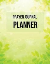 Prayer Journal Planner