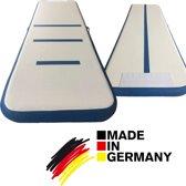 Duitse Turnmat - Beste Pro AirTrack | 300x95x15 cm | Sterker - 30% minder gewicht | Topkwaliteit gymnastiek mat + pomp