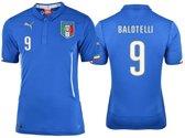 Puma Italie  Thuis Shirt - Balotelli - Nr 9 -  Kleur Azzuri Blauw - Maat XL