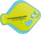 Safety 1st Flat Fish Thermometer - Badthermometer - White and Lime