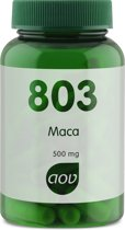 AOV 803 Maca Voedingssupplement - 60 Capsules