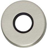 Intersteel ronde rozetten - verdekt kunststof - mat nikkel - 0019.318604