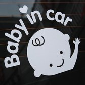 Baby on board autosticker - Baby in car