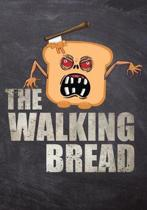 The Walking Bread: 50 Page Blank Baker Recipe Journal