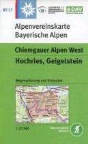 DAV Alpenvereinskarte Bayerische Alpen 17. Chiemgauer Alpen West 1 : 25 000