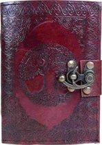 Tree of Life leren notitieboek bruin - Fantasy - Nemesis Now