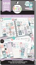 Me and My Big Idea's - Happy Planner Sticker Value pack - Wellness -1010Pieces