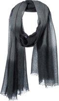 Amor Collections - Langwerpige sjaal - Modal - Grijs - 100x200 cm