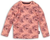 Koko Noko Longsleeve Girls roze met allover vis print maat 74