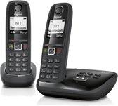 Gigaset AS405A - Duo DECT-telefoon - Met Antwoordapparaat - Zwart