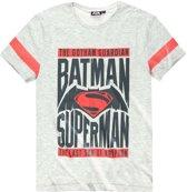 Batman-vs-Superman-T-shirt-met-korte-mouw-grijs-maat-L