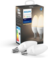 Philips Hue Duopack - White - E14 - 2 Lampen - Bluetooth