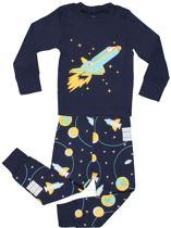 """El-ow-el Jongens """"Raket"""" Pyjama set 100% katoen (maat 98/3 jaar)"""