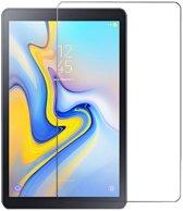 Shop4 - Samsung Galaxy Tab A 10.5 Glazen Screenprotector - Gehard Glas Transparant
