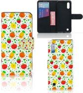 Samsung Galaxy M10 Book Cover Fruits
