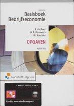 Basisboek bedrijfseconomie / deel opgaven