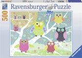 Ravensburger Vrolijk Gekleurde Nachtuilen - Legpuzzel