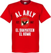 Al Ahly Established T-Shirt - Rood - XL