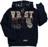 Losan Junior dikke fleece gevoerde sweater met applicaties - Maat 140