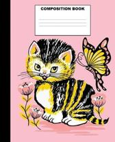 Cat Composition Book