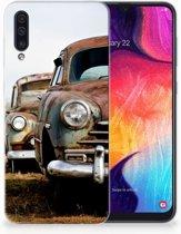 Samsung Galaxy A50 TPU Hoesje Vintage Auto