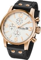 TW Steel Maverick MS73 Heren Horloge Rose Goud Kleurig 45mm Chrono