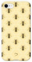 Fashionthings Bee inspired iPhone 7/8 Hoesje / Cover - Eco-friendly - Softcase