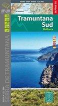 Mallorca -Tramuntana Sud map and hiking guide