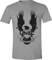 Halo - UNSC Logo Mannen T-Shirt - Grijs - XL
