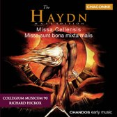 Haydn: Missa Cellensis etc / Richard Hickox, Collegium Musicum 90 et al