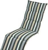 Kopu - Leeds Deckchairkussen - Blue