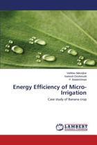 Energy Efficiency of Micro-Irrigation