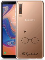 Galaxy A7 2018 Hoesje The Boy Who Lived
