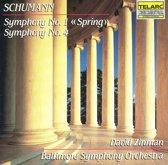 Schumann: Symphonies nos 1 & 4 / Zinman, Baltimore SO