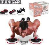 Iron Gym Push Up Max Roterende Opdruksteunen set van 3 - Push Up Grips
