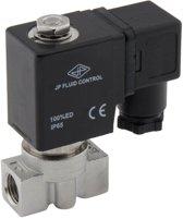 Magneetventiel HP-DA 1/4'' hoge druk rvs PTFE 0-75bar 24V DC - HP-DA014S010P-024DC