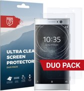 Rosso Sony Xperia XA2 Clear Screen Protector Duo Pack