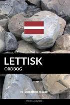 Lettisk ordbog