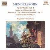 Mendelssohn: Piano Works 4