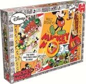 Disney Mickey Retro - Puzzel - 1000 stukjes