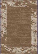 Opmerkelijk vervaagd artistieke vloerkleden - 80X150 - BROWN