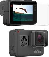 PULUZ Lens HD Displayfolie + Lcd-scherm Gehard Glasfilm voor GoPro HERO7 Zwart / HERO7 Zilver / HERO7 Wit / 6/5