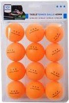 Angel Sports Tafeltennisballen - 12 stuks - oranje