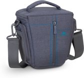 Rivacase - SLR canvas camera case - grijs